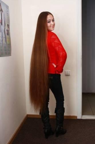Подборка девушек с длинными волосами